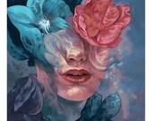 """Flower Girl 11"""" x 14"""" print Steven Russell Black"""