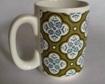 Vintage Holt Howard Retro Vera-Style Pattern Mug-1965-#7519