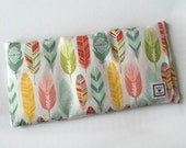 Heating Pad, Microwavable, Aromatherapy, Hot Cold pack, Heat Therapy, Removable Cover, Menstrual Cramps, Scented Pad, Colorful Feathers