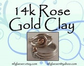 18k Rose Gold Clay