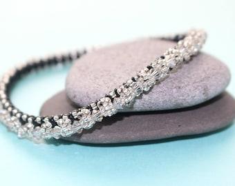 Swarovski Clear Crystal Bangle