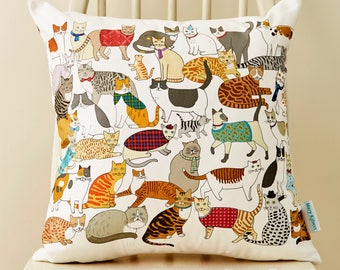 Crafty Cats Cushion
