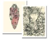 Mini Print Set - Briar Rose and Sleeping Beauty
