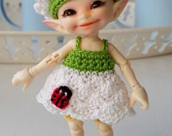 Realpuki 4 Pc Outfit Set Little Daisy