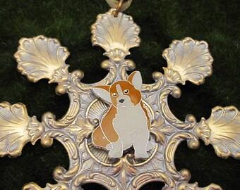 Corgi Gifts Ornament. Corgi Christmas Ornament.Pembroke Welsh Corgi. Cardigan Corgi. Personalized Ornament.  Keepsake Gift for Corgi Lovers