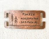 Timber Quiet Pet Tag
