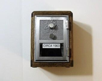 Post Office Box 1963 Door Oak Bank Combination Lock