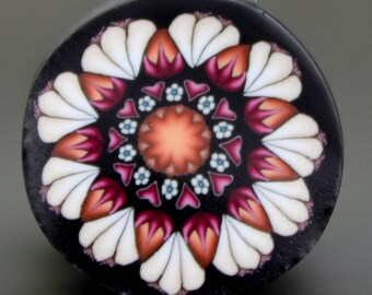Polymer Clay Flower Cane -'Fresh Start' (21B)