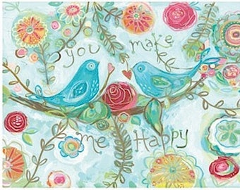 ROSEBUD BIRDS You make me happy