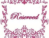 Reserved for Mazen