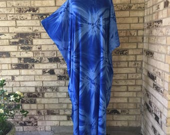 Long Plus Size Premium Rayon Caftan