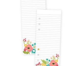 Floral Bookmark Tablet Carpe Diem Bookmark Tablet 24/Pkg for A5 Planner Binder • To-Do List • Note Pads (8908)