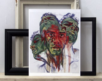 Noah Apollonian - High Quality Reproduction Print - Archival Giclee on Somerset Velvet Paper