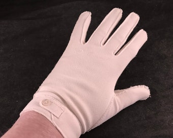 One (1) Pair of Vintage Ladies' Off White Cotton Stetson Gloves