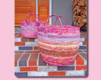 SALE Freeport Gatherer by Aunties Two Patterns  Purse Tote Bag Pattern