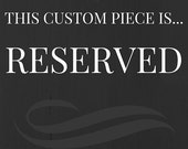 RESERVED this item is for Shirin game bracelet