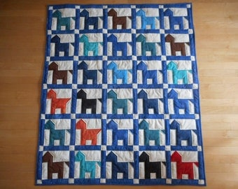 Hold Your Horses quilt