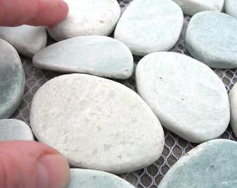Miniature Fairy Garden Seagreen Patio Stone Sheet for Mini, Fairy Garden Patio or Pathways