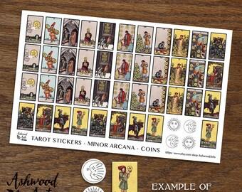 Tarot Card Planner Stickers
