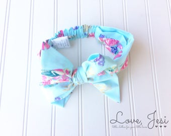 Bow Headband, Baby Girl Hairbows, Little Girls Hair Bows, Newborn Baby Bow, Hair Bows for Girls, Hair Bows for Babies, Fabric Headwrap Bow