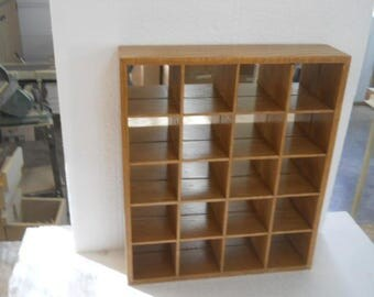 Display case, Shadow box with mirror