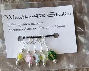 Glass Stitch Markers