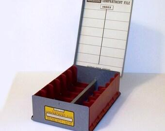Vintage Eastman Kodak Kodaslide Compartment File for 35mm Slides