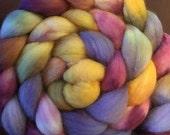 Aubergine filature fibres Corriedale