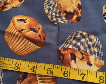Half Yard of Blueberry Muffin Fabric