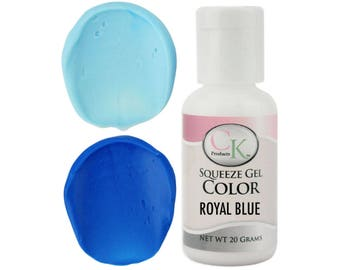 Royal Blue CK Gel Paste Food Coloring - high quality food coloring for icing, frosting, cookie dough and more