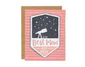 To The Best Mom Out There Illustrated Card//1canoe2
