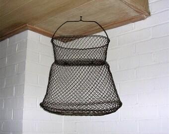 Crab basket etsy - Trap decor ...