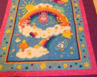 Carebears Youth size Quilt