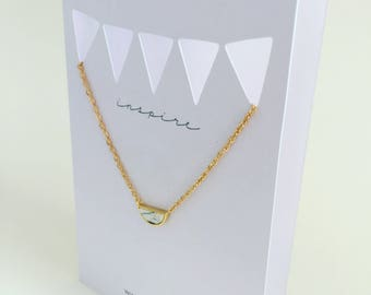 Inspire Necklace and Greeting Card in One