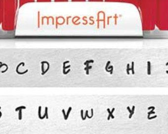 Scarlett's Signature, Uppercase Impress art stamps