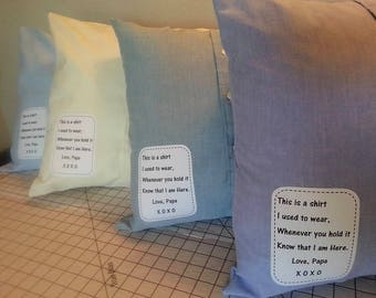 Memory Pillow Covers