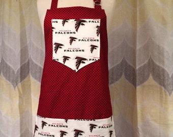 Ladies Atlanta Falcons NFL Apron - PRIORITY Shipping