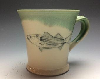 Striped Bass Mug- Wintergreen