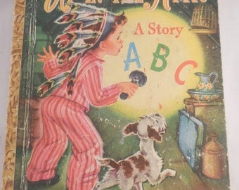 Little Golden Book Up in the Attic 1948