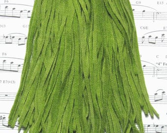 Rug Hooking Wool 70 Strips Leaf Green Number 4 Cut New Dorr Wool