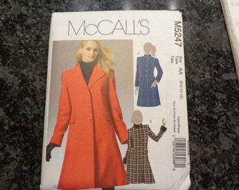 McCall's 5247 misses' coat pattern