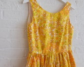 Spring Tea Dress {tangerine dream } size 6