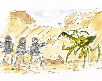 Starship Troopers illustration
