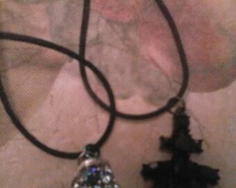 Reclaimed Upcycled Jewel Pendants Stocking Stuffers