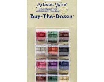 20 Gauge Artistic Wire Buy The Dozen Jewelry Wire Beading Wire Colored Wire for Wire Wrapping