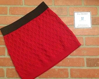 Size Medium Red Hip Sweater