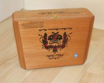 Wood Cigar Box - A. Fuente 26