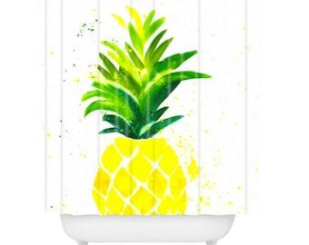 Pineapple Sunshine Shower Curtain