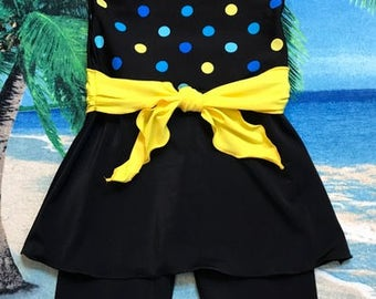 Girls modest swimsuit