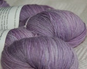Studio June Yarn Super Cash Sock - Cashmere, Superwash Merino, Nylon Color: Vintage Lilac